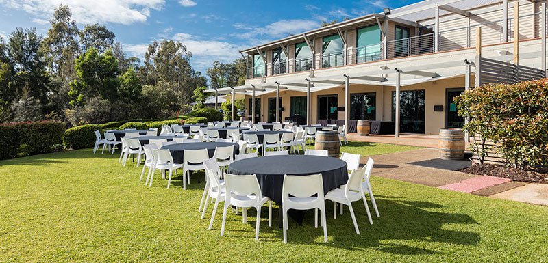 outdoor venue for large convention hunter valley